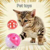 Plastic Pet Toy Small Bell Balls Cat Toy Hollow Out Ball Kitten Cat Toys V4 S5U4