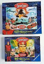 RAVENSBURGER - 2 Captain Scarlet Puzzles -  100/60 Pieces  2001 Edition