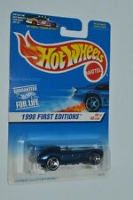 1998 Hot Wheels JAGUAR D-TYPE First Editions Blue Color Diecast Malaysia MIC
