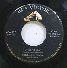 50'S & 60'S Nm! 45 Bobby Dukoff - My Silent Love / Listen To The Mocking Bird On