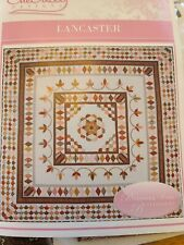 """New listing Lancaster 10 month Bom Quitling Kit by Sue Daley Designs 72"""" x 72"""""""