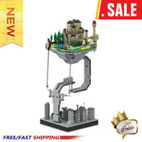 New Technical MOC Floating Magic Castle Building Blocks Toys