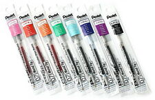 Pentel Energel  Refill 0.7mm 8  colors set  Metal Tip  Japan total 8 refills