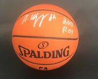 ANDREW WIGGINS SIGNED AUTO AUTHENTIC GAME BASKETBALL MINNESOTA TIMBERWOLVES JSA