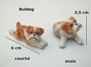 bulldog, chien, miniature, maison de poupée, vitrine, collection,dog,hond **S12