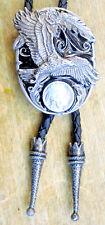 Bolotie Adler Eagle  Indian Coin Indianer Western Westernkrawatte Necklace