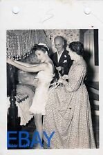 Barbara Stanwyck in corset Director Mitchell Leisen VINTAGE Photo