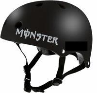 STICKER MONSTER RETRO REFLECHISSANT CASQUE SKATE VELO TROTINETTE ROLLER SKI