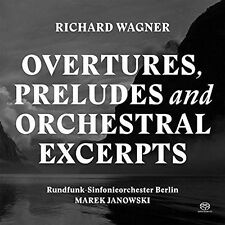 RICHARD WAGNER: OVERTURES, PRELUDES AND ORCHESTRAL EXCERPTS NEW CD
