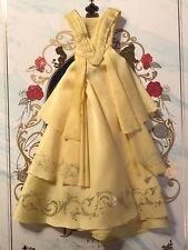 Hot Toys Disney belleza y la Bestia Belle MMS422 Amarillo Vestido Suelto Escala 1/6th