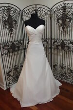 151 SWEETHEART 6071 SZ 16 IVORY FORMAL WEDDING DRESS GOWN