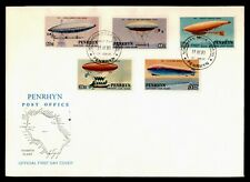 DR WHO 1983 PENRHYN FDC FIRST MANNED BALLOON FLIGHT 200TH ANNIV C237506