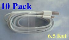 10 Pack-2 meter (6 -1/2') USB Cable Data Sync Charger Cord for iPhone and Ipads