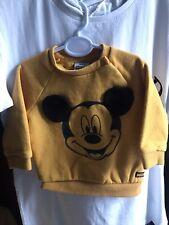 Boys Disney Mickey Mouse Sweatshirt 0-3 Months