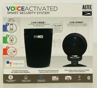 Voice Activated Smart Security Camera System w/ Google Assistant-Altec Lansing.