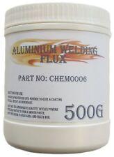 ALUMINIUM WELDING FLUX POWDER / IN 500G TUB / FOR WELDING OF ALUMINIUM