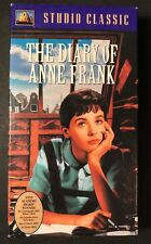 The Diary of Anne Frank (VHS, 1959) Millie Perkins, Shelley Winters