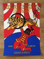 Affiche Poster Sérigraphie Catherine FOLÂTRE - Le cirque - Galerie Bénézit 1972
