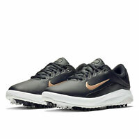 NIKE GOLF WOMENS VAPOR Golf Shoes Cleats Spikes - Black / Copper - Pick Size