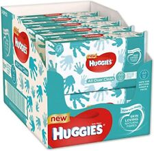 Huggies All Over Clean Baby Wet Wipes 56 Pieces - Pack of 6