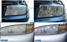 Headlight restorer solution cleaner polisher repair restore renew clean headlamp