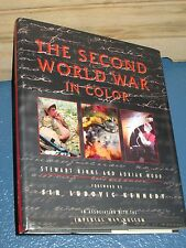 The Second World War in Color by S. Binns & A. Wood HCDJ 0809299674