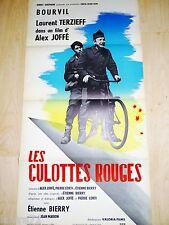 bourvil LES CULOTTES ROUGES ! Laurent TERZIEFF affiche 1967 cycliste velo