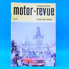 DDR Motor-Revue 2-1977  (tschechoslowakische) Skoda Jawa CZ Tatra II
