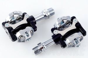 Wellgo Double Sided Shimano SPD Type Clipless Pedal for Road MTB Bike Bicycle