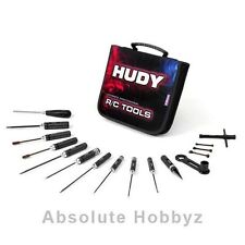 Hudy Tool Set w/Carrying Bag (1/8 Off-Road) - HUD190003