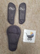 Baby Jogger City Mini Sitz Gurt/Strap/Chest Pads Ersatz Grau