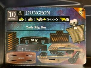 Dungeon LE 212 | Pirates of Davy Jones' Curse | WizKids Limited Tournament Ship