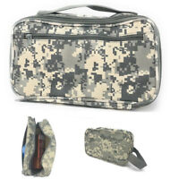 Camo Army Travel Kit Organizer Accessories Bathroom Cosmetics Toiletry Pouch Bag