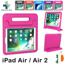 iPad Air Case / Air 2 Case Kids Shockproof Cover Soft EVA Foam Handle Stand New
