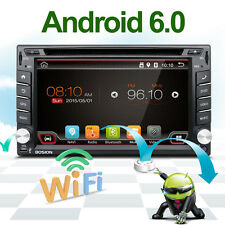 "Android 6.0 6.2"" 2Din InDash Car DVD Radio Stereo Player BT WiFi 3G GPS+CAMERA"