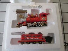 bachmann hawthorne village Budweiser powered steam engine On3O/
