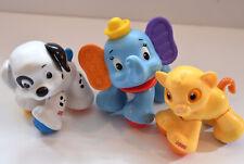 Fisher-Price Baby Toddler Disney Amazing Animals Simba Dumbo Dalmatian Dog Toy