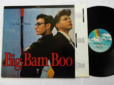 BIM BAM BOO Fun, faith & fairplay UK LP MCA Records (1989) synth pop NMINT