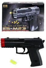 Kugelpistole ES-M23 schwarz - Erbsenpistole für 6 mm