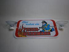 Geschenk für Feuerwehr Fan Hier wohnt ein Feuerwehrmann