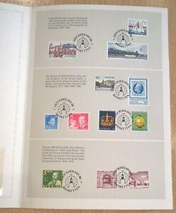 Stockholmia `86 A38 Philately Exhibition Folder+ Bulletin