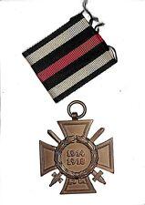 E4709WWI German Honor Cross Hindenburg Ehrenkreuz company L.NBG material iron