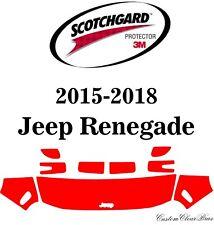 3M Scotchgard Paint Protection Film Pre-Cut 2015 2016 2017 2018 Jeep Renegade