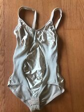 Miraclesuit Body Suit 36C Tan Nude Shapewear