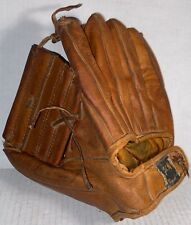 Vintage ERNIE BROGLIO Baseball Glove - Sears, Roebuck and Co. - Hex-Action 1631