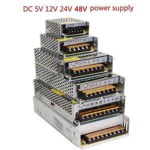 vusum Lighting Transformer AC110V-220V to DC 5V 12V 24V 48V Power Supply