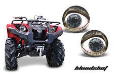 AMR Racing Yamaha Grizzly 700/550 Headlight Eyes ATV Light Graphics Parts BLOOD