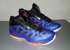 Jordan Melo Blue/Black/Orange Mens Basketball shoes size 9