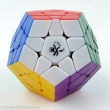 Dayan Megaminx Dodecahedron Twist Puzzle Magic Cube Stickerless white Fancy Toy