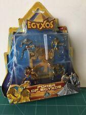EGYXOS 4 FIGURES POWER OF EGYXOS  GIOCHI PREZIOSI VER FOTO